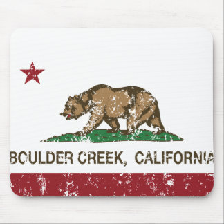 California flag boulder creek mousepad