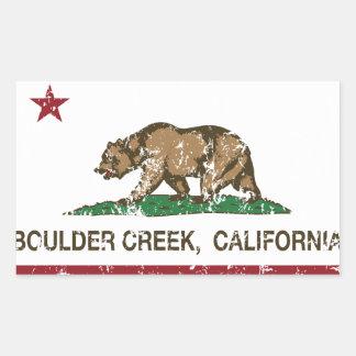 California flag boulder creek stickers