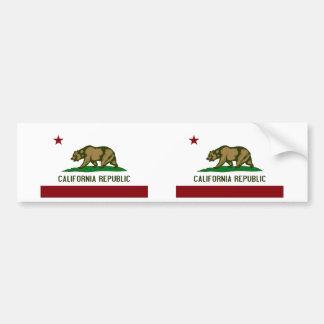 California Flag Bumper Stickers