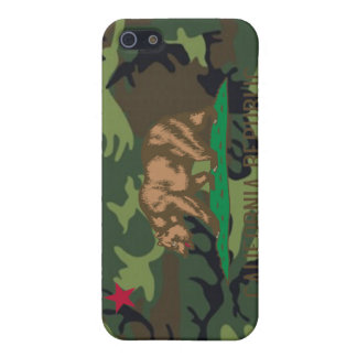 California Flag  Camouflage  Camo iPhone 5/5S Cover