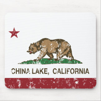 California flag china lake flag mouse pad