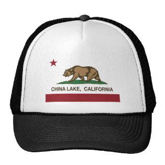 california flag china lake trucker hats