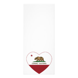 california flag corning heart invites