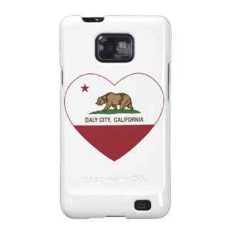 california flag daly city heart samsung galaxy SII cover