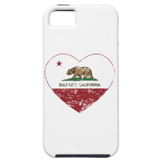 california flag daly city heart distressed iPhone 5 covers