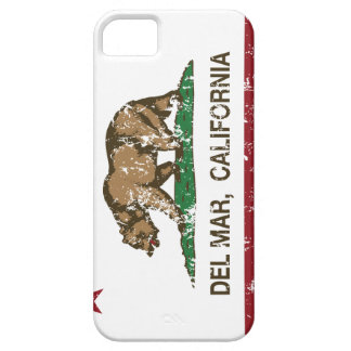 california flag del mar distressed iPhone 5/5S cases