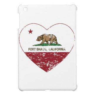 california flag fort bragg heart distressed iPad mini cases