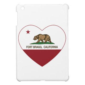 california flag fort bragg heart iPad mini case
