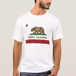 california flag fresno T-Shirt