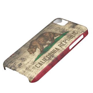 California Flag Grunge iPhone 5C Case