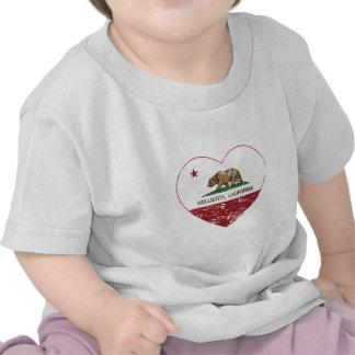 california flag hollister heart distressed t-shirts