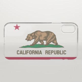 California flag iPhone x case