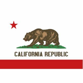 California Flag Keychain Cut Out