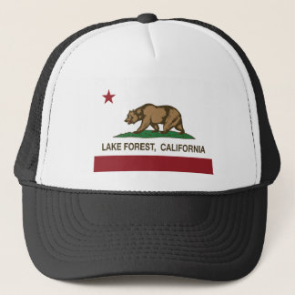 california flag lake forest trucker hat