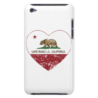 california flag lake isabella heart distressed barely there iPod case