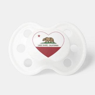 california flag lake tahoe heart pacifiers