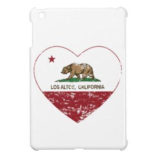california flag los altos heart distressed iPad mini cover