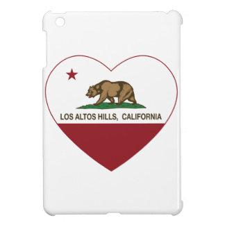 california flag los altos hills heart iPad mini case