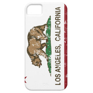 california flag los angeles distressed case for the iPhone 5