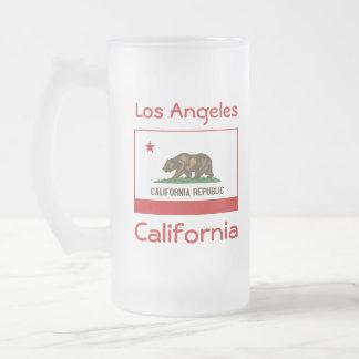California Flag Map City Mug