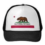 California Flag Mesh Hat
