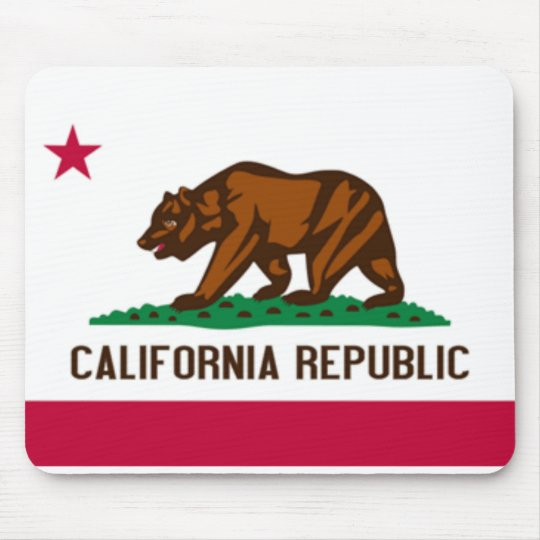 California Flag Mousepad