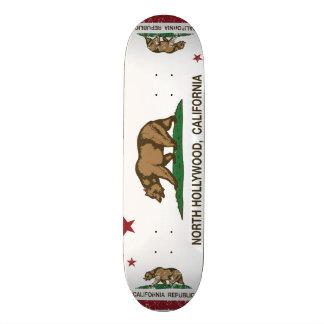 california flag north hollywood 21.6 cm skateboard deck