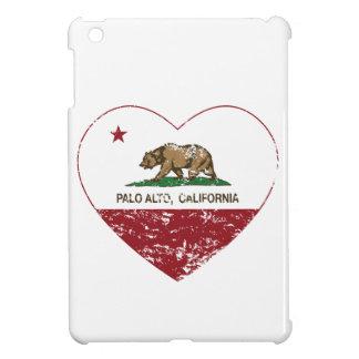 california flag palo alto heart distressed case for the iPad mini