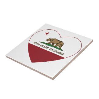 california flag penn valley heart tile