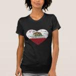 california flag ramona heart distressed t shirts