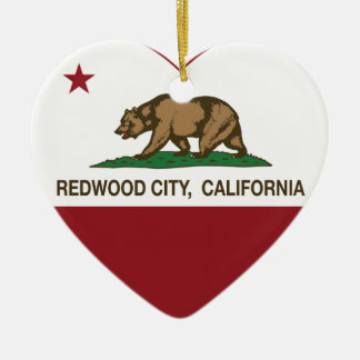 california flag redwood city heart ceramic heart decoration
