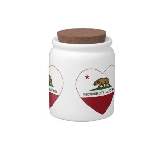 california flag redwood city heart candy dishes