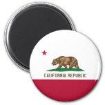 California Flag Refrigerator Magnet