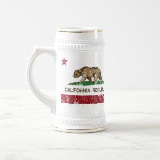 california flag republic state flag beer steins