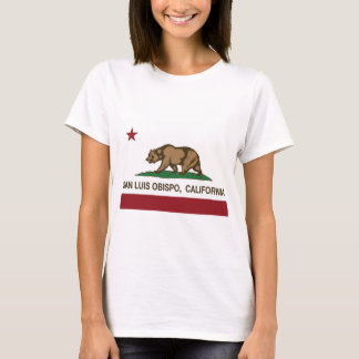 california flag san luis obispo T-Shirt