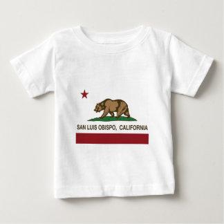 california flag san luis obispo tshirt