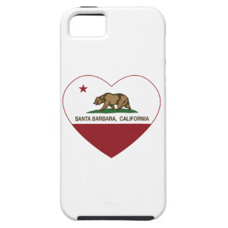 california flag santa barbara heart iPhone 5 cover