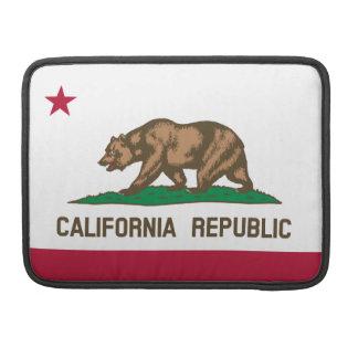 California Flag Sleeve For MacBook Pro
