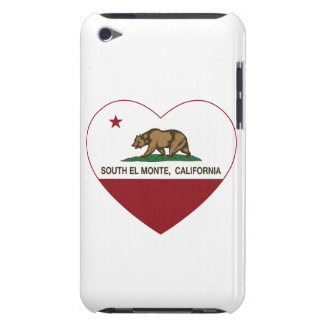 california flag south el monte heart barely there iPod covers