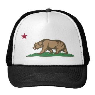 California Flag Theme 01 Trucker Hats