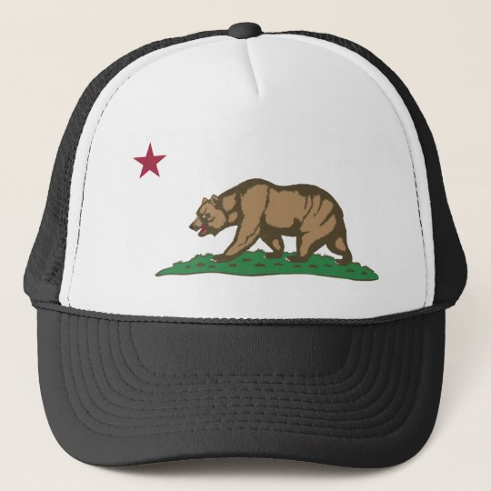 California Flag Theme 01 Trucker Hat