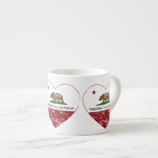 california flag thousand oaks heart distressed espresso mug