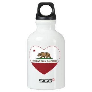 california flag thousand oaks heart SIGG traveller 0.3L water bottle