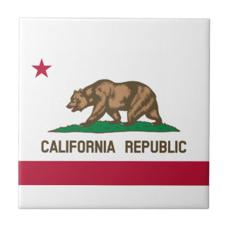 California Flag Tile