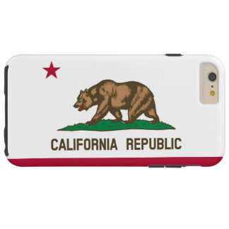 California flag tough iPhone 6 plus case