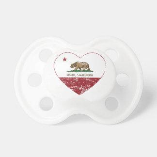 california flag ukiah heart distressed dummy