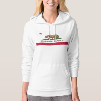 California Flag Women's Pullover Hoodie