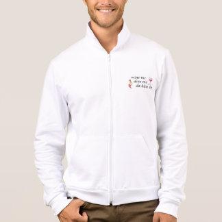 California fleece jogger  jacket w/ custom logo