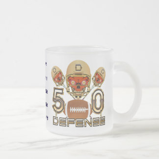 California Football SB 50 ADD your image Frosted Glass Mug