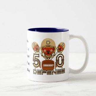 California Football SB 50 ADD your image Two-Tone Mug